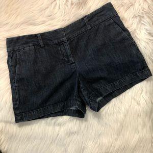 Loft Dark Wash Jean Shorts